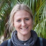 Curtin student, Emily Cousins looking at camera and smiling