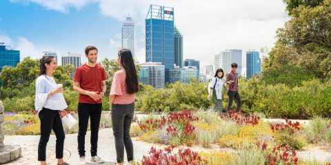 I'm an international student looking to study at Curtin Perth for one or two semesters