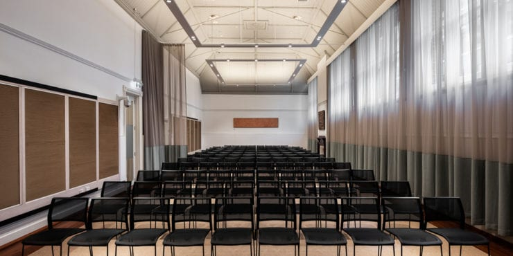 Event hall at 137 St Georges terrace