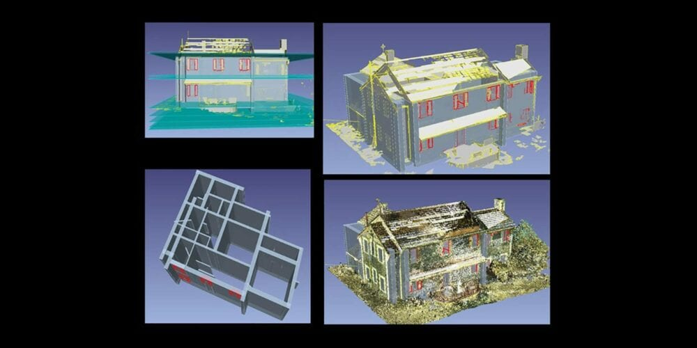 Digital mockups of the healing centres for the stolen generations survivors